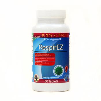 Body Science RespirEZ 60 Tablets