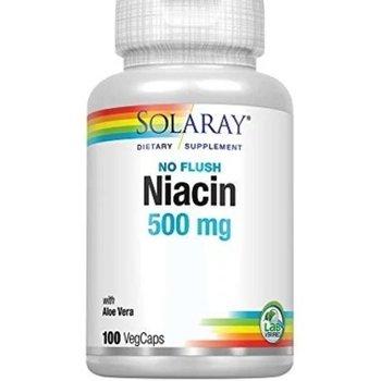 SOLARAY NIACIN NO FLUSH 500 MG 100 VEG CAPS