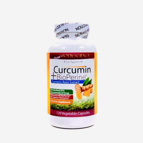 Body Science BSCI Curcumin + Bioperine 120 Vcaps