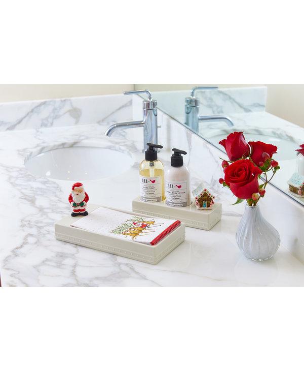 Melamine Guest Towel Holder