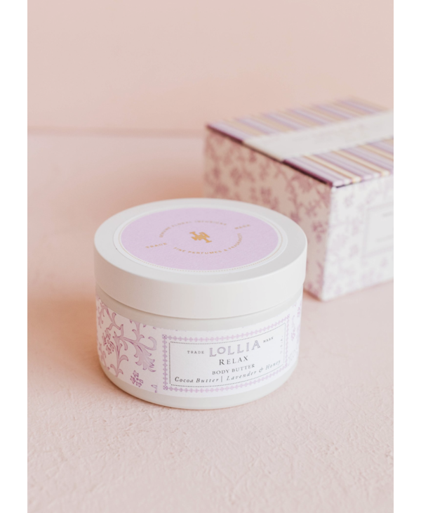 Body Butter in Relax