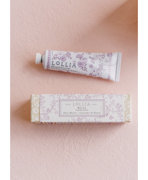 Travel Size Handcreme in Relax