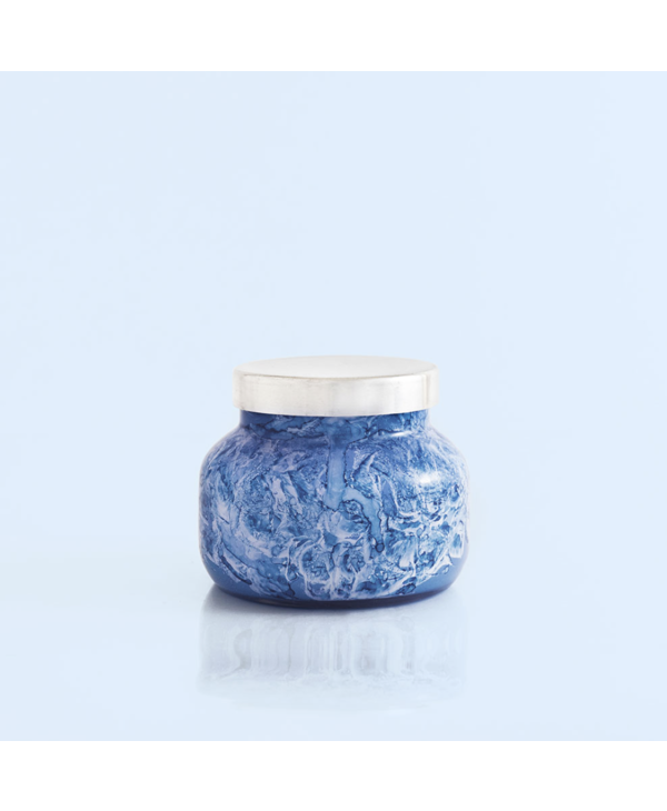 Watercolor Petite Jar in Blue Jean