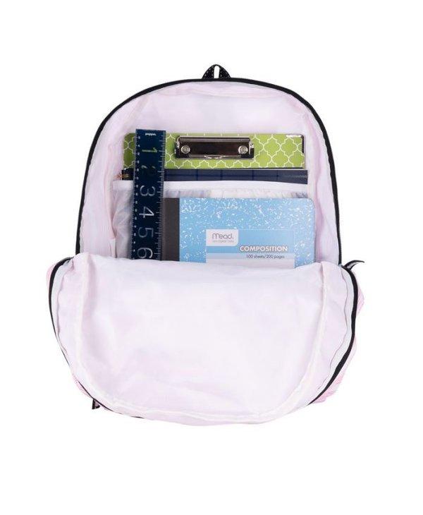 Stowaway Foldable Backpack in Wavy Love