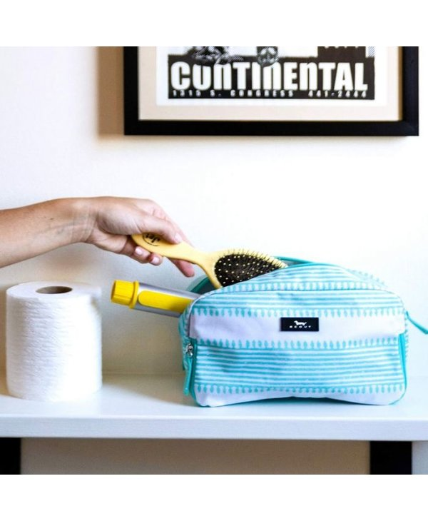 3-Way Toiletry Bag in Call Me Wavy