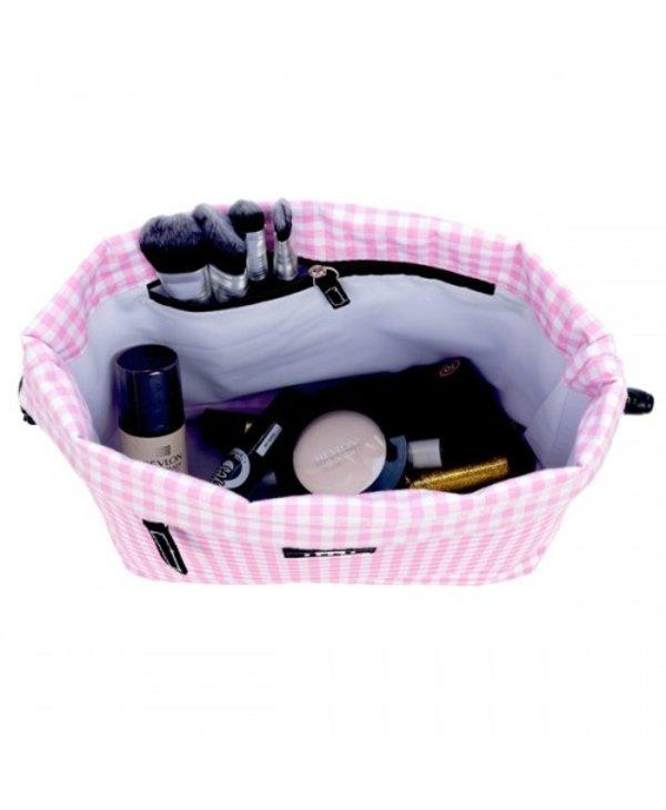 Glam Squad Makeup Bag in Victoria Checkham