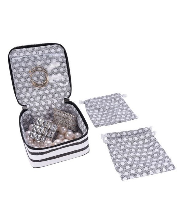 Hidden Gem Jewelry Bag in Double Stuff