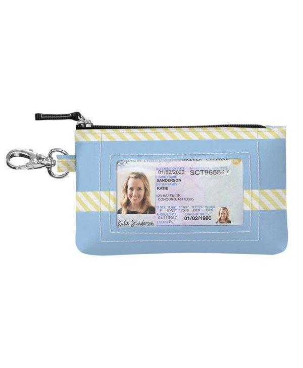 ID Kase Card Holder in Banana Cabana