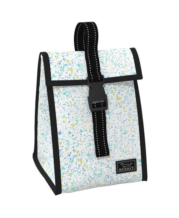 Doggie Bag Lunch Box in Splash Dance