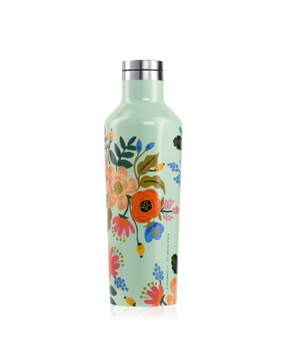 16oz Canteen in Lively Floral Mint