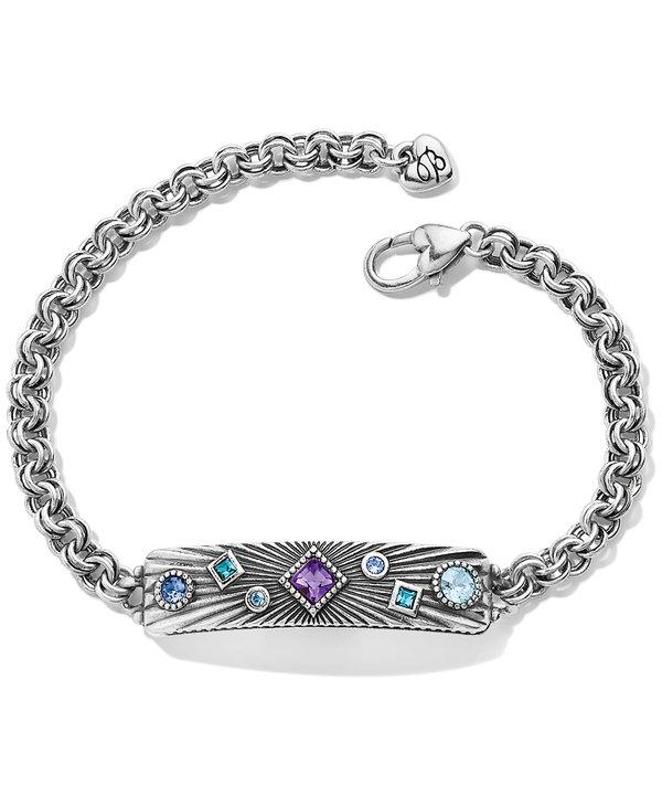 Halo Rays Plaque Bracelet