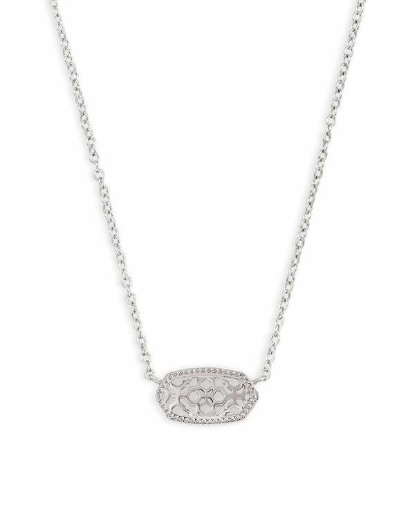 Elisa Pendant Necklace in Filigree