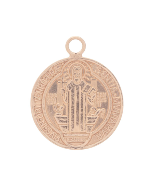 """16"""" Blessing Large Charm Gold Necklace"""
