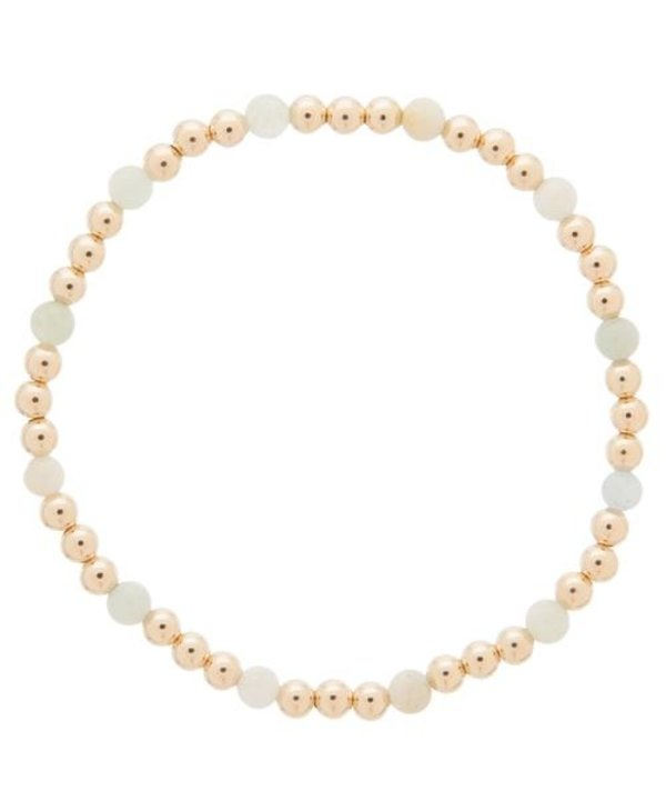 Sincerity Gold Bracelet in Aquamarine