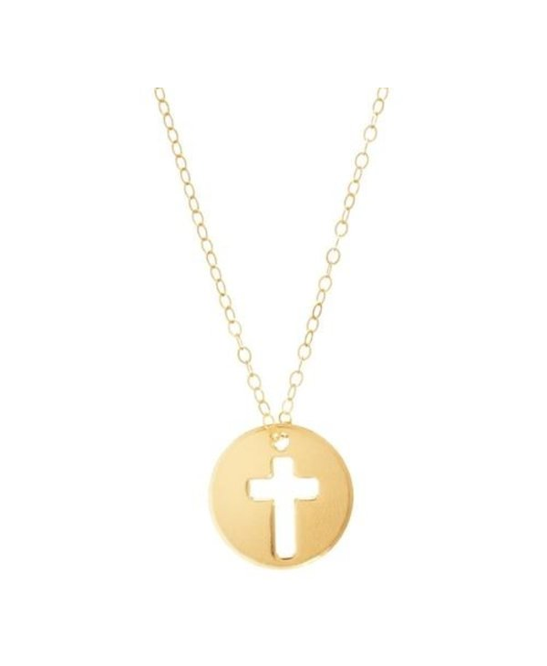 Blessed Charm Gold Necklace