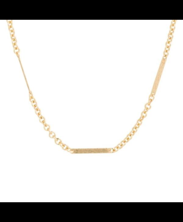 Simplicity & Bliss Gold Choker