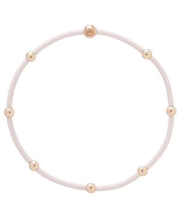 Essentials Hair Tie Bracelet Set of 2 in Blush
