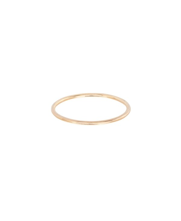 Classic Thin Band Gold Ring