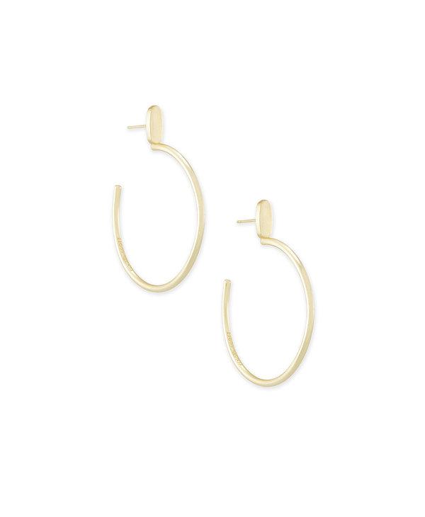Small Pepper Hoop Earrings