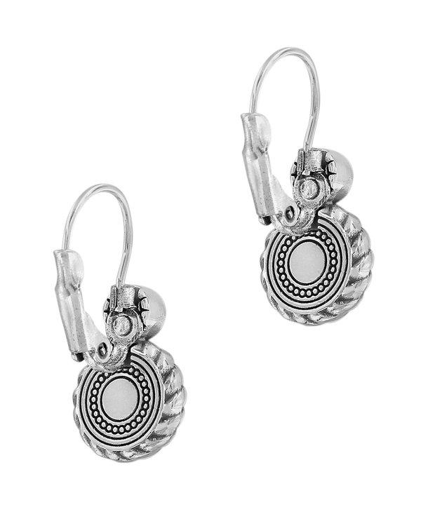 Halo Eclipse Leverback Earrings