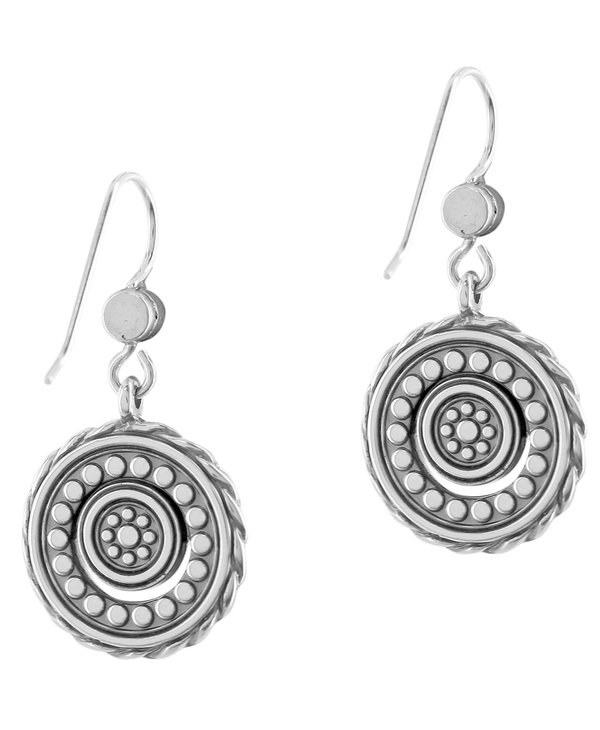 Halo Eclipse French Wire Earrings