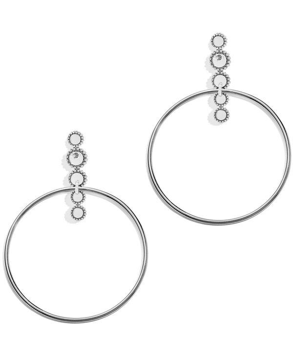 Twinkle Post Hoop Earrings
