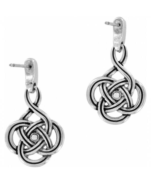 Interlok Petite Post Drop Earrings