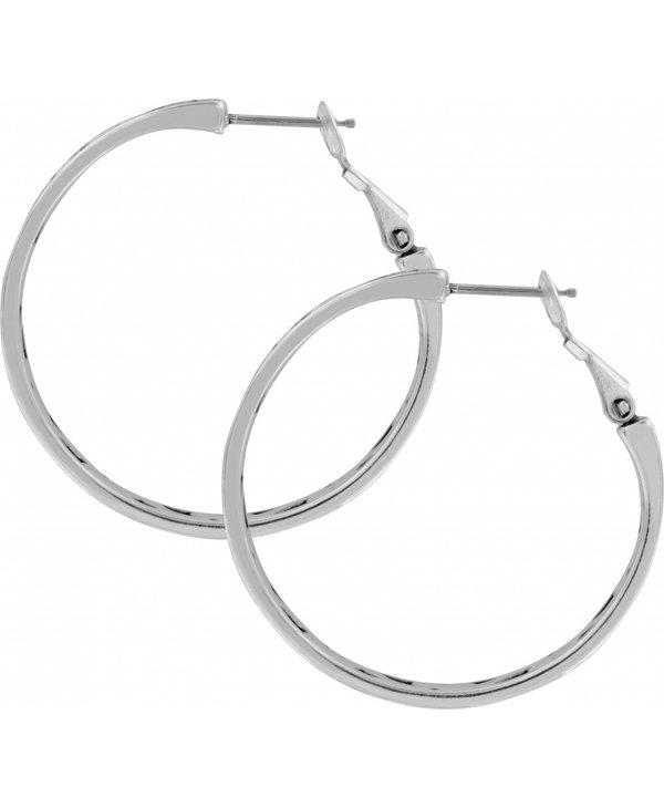 Contempo Medium Hoop Earrings