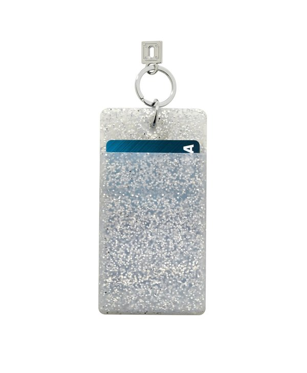 Silicone ID Case in Quicksilver Confetti