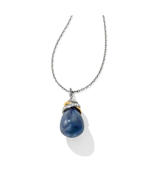 Neptune's Rings Blue Quartz Necklace