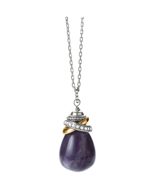 Neptune's Rings Amethyst Necklace