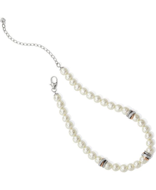Neptune's Rings Peal Short Necklace