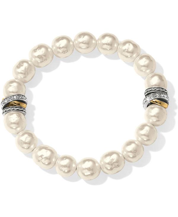 Neptune's Rings Pearl Stretch Bracelet