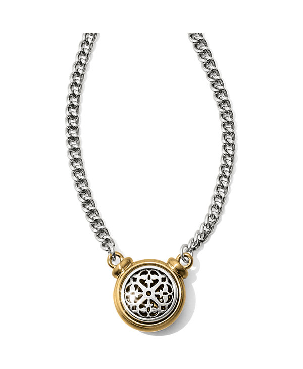 Ferrara Two Tone Short Necklace