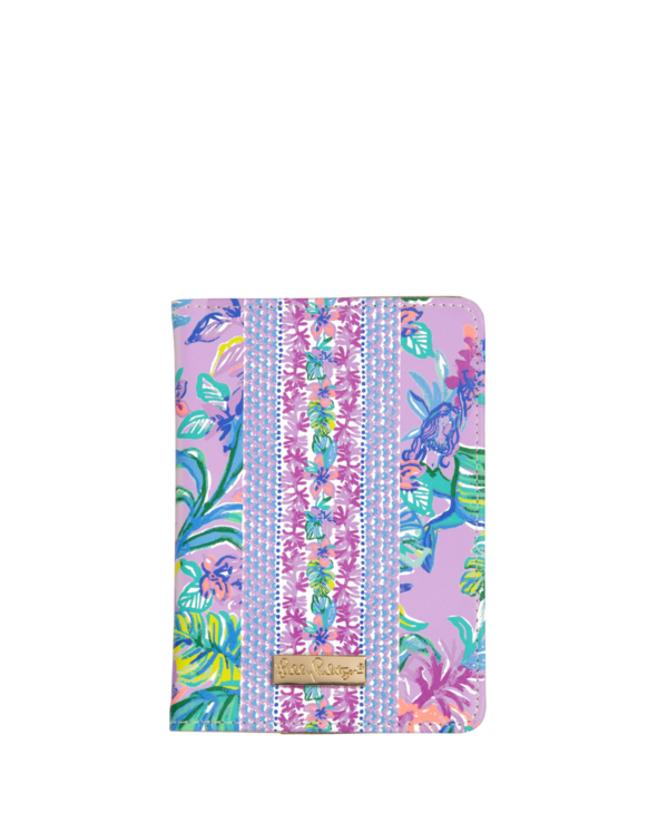 Passport Cover in Mermaid in the Shade