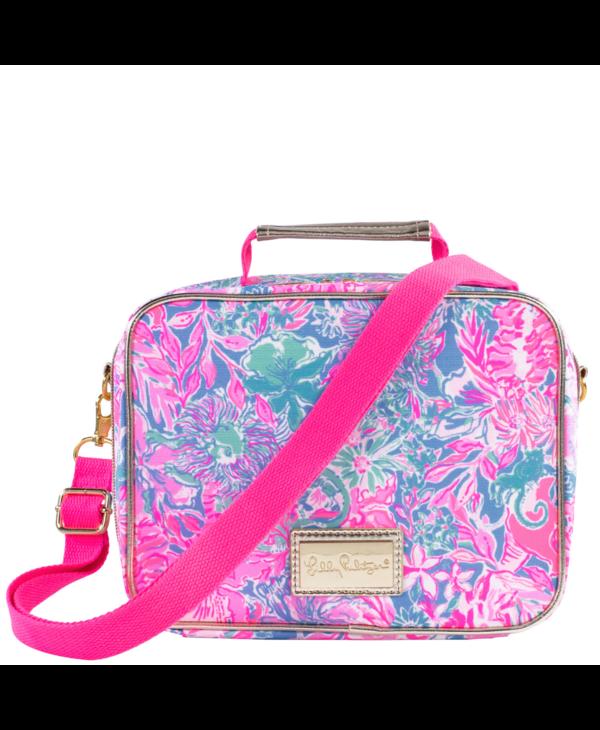 Lunch Bag in Viva la Lilly
