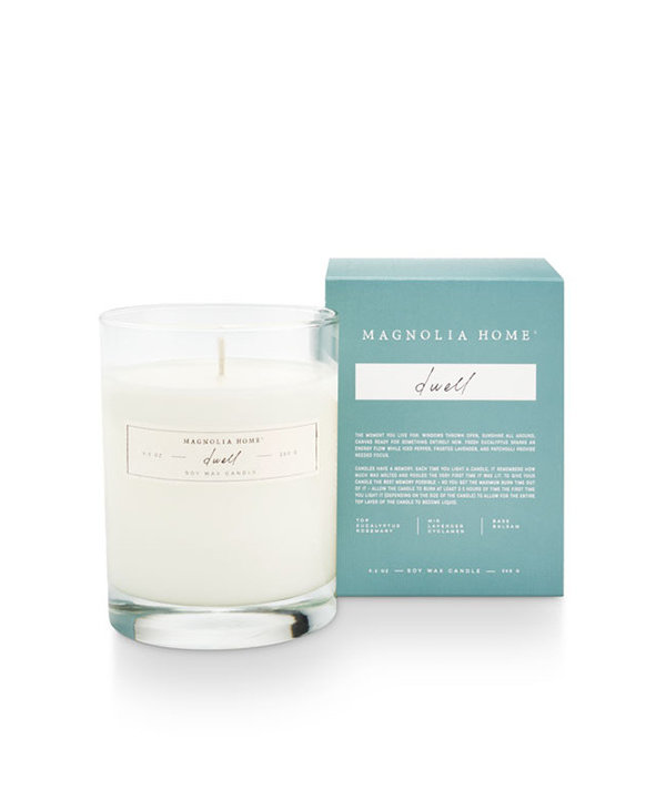 Boxed Glass Candle in Dwell
