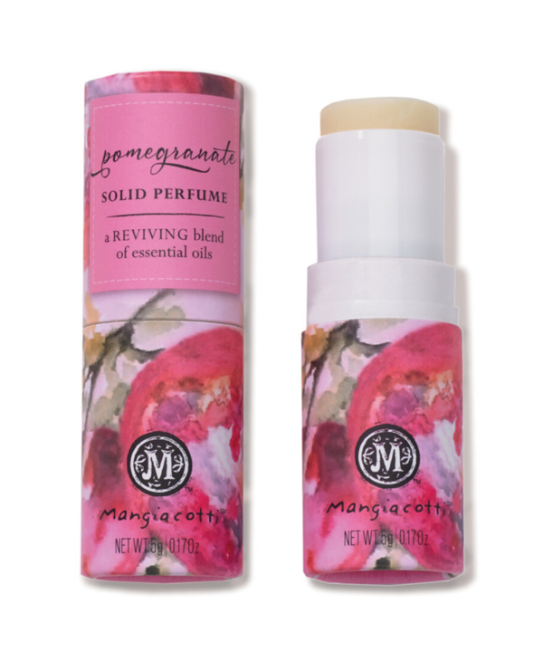 Solid Essential Oil Perfume in Pomegranate
