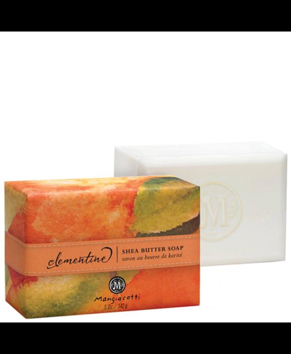 Shea Butter Bar Soap In Clementine