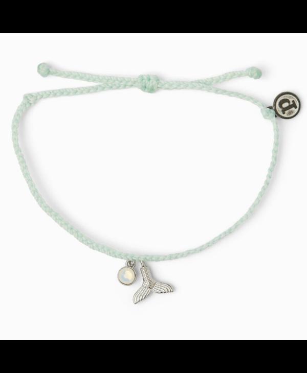 Mermaid Fin Charm Bracelet