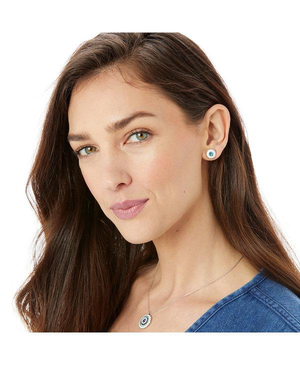 Halo Light Post Earrings