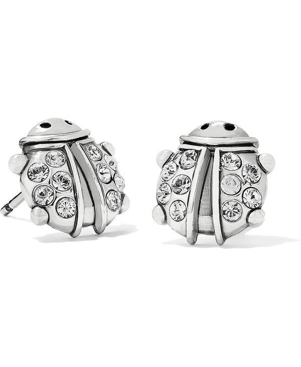 Lucky Ladybug Mini Post Earrings