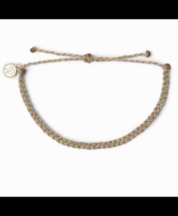 Solid Mini Braided Bracelet