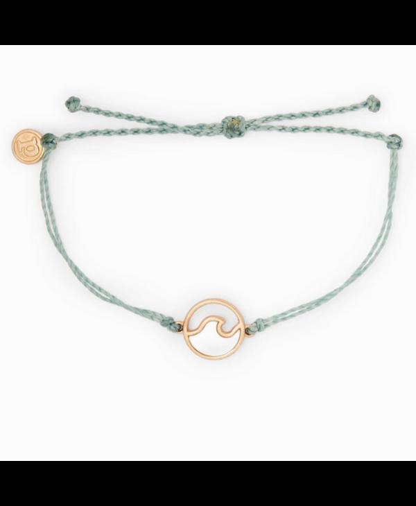 Stone Wave Charm Bracelet