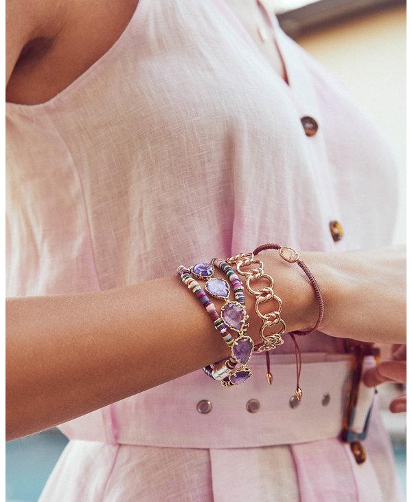 Fallyn Cuff Bracelet in Silver