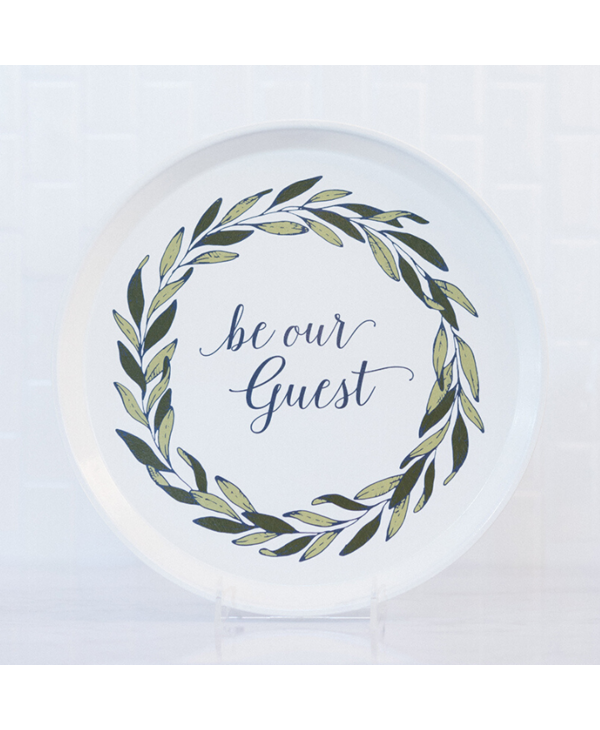 Be Our Guest Tray