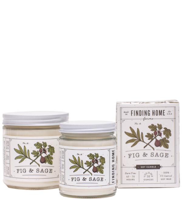 Fig & Sage Boxed Candle