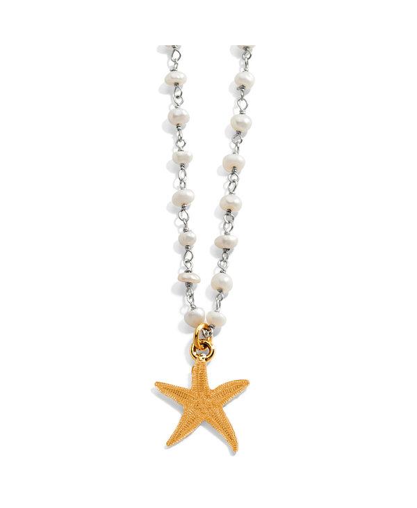 Sea Shore Petite Starfish Necklace