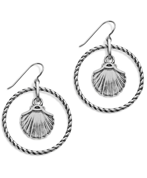 Sea Shore Shell French Wire Earrings
