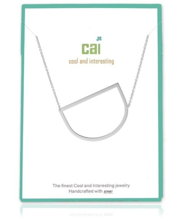 Medium Initial D Necklace